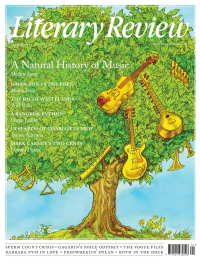 Literary Review April 2021 front cover