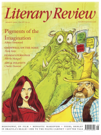 Literary Review August 2021 front cover