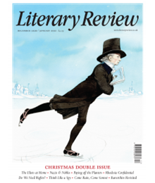 Literary Review December 2020 cover
