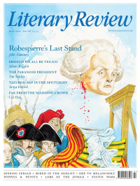 Literary Review July 2021 front cover