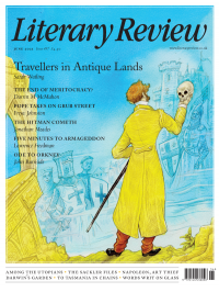 Literary Review June 2021 front cover