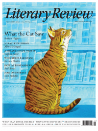 Literary Review November 2020 front cover