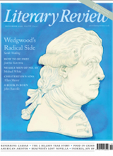 Literary Review September 2021 front cover