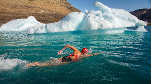 Outdoor Swimmer Image..