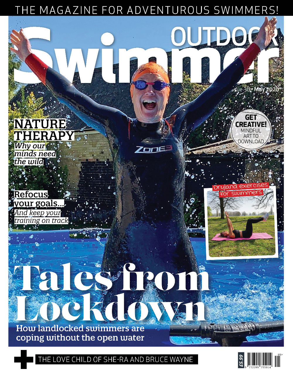 Outdoor Swimmer Cover MAY 2020