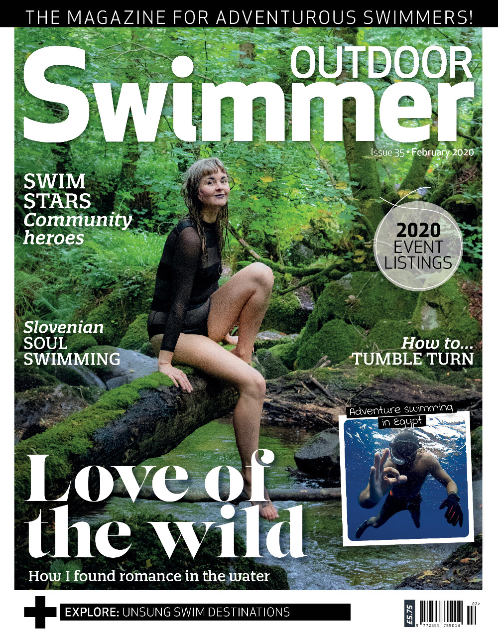 Outdoor Swimmer february 2020 issue