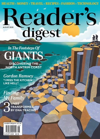 Readers Digest August 2020 Cover