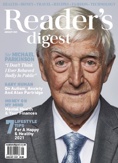 Readers Digest January 2021 front cover