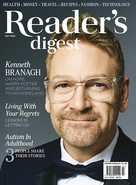 Readers digest July 2020 cover