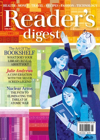 Readers Digest June 2020 front cover