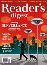 Reader's Digest October 2020 Front Cover