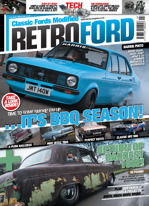 Retro Ford Front Cover July 2018