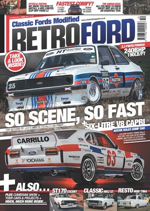 Retro Ford front cover October 2018