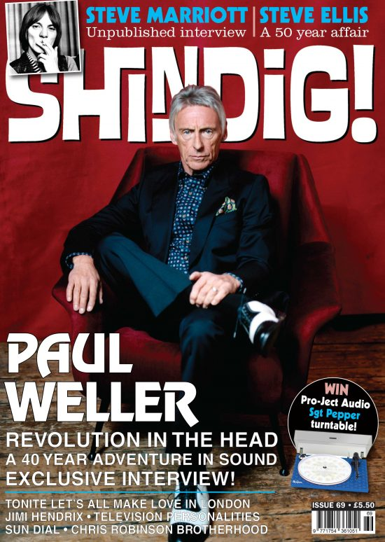 Shindig Magazine front cover Issue 69