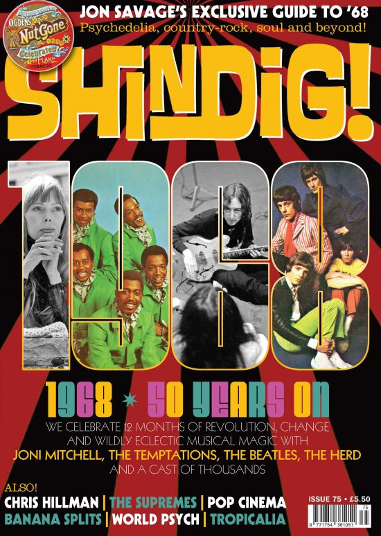 Front cover Shindig Issue 75