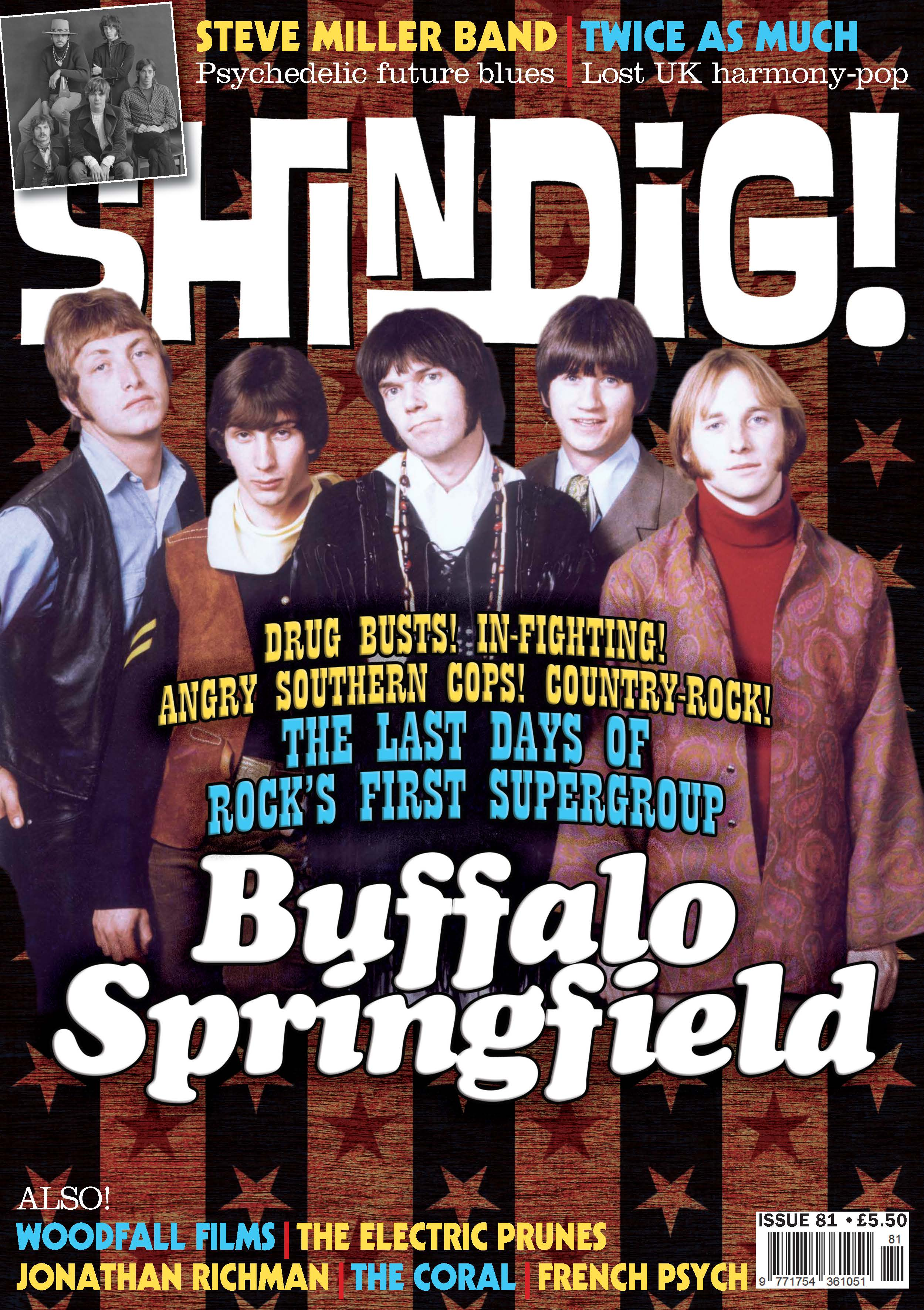 Shindig front cover Issue 81