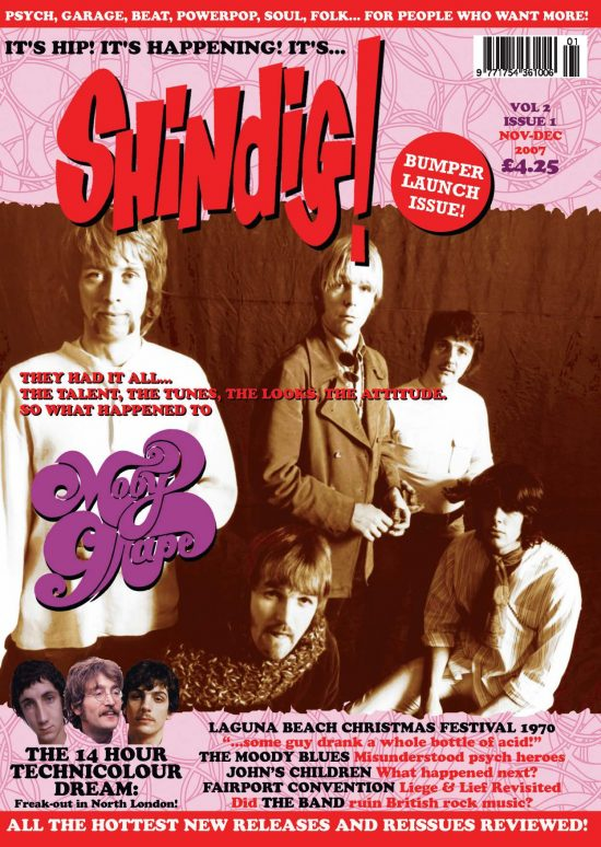 Shindig issue 1 front cover