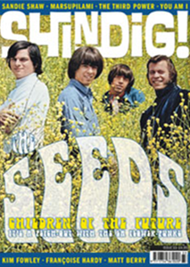 Shindig issue 33 front cover