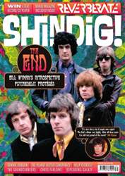 Shindig issue 39 front cover