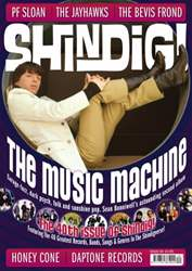 Shindig issue 40 front cover