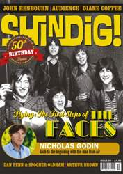Shindig issue 50 front cover
