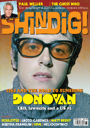 Shindig issue 84 front cover