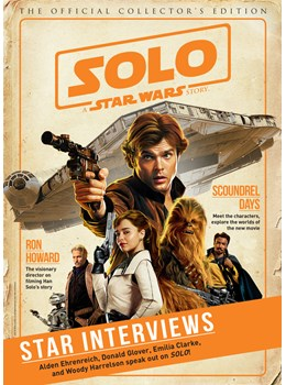 Solo a Star Wars Story Front Cover