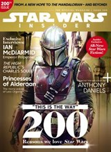 Star Wars Insider Issue 200 front cover