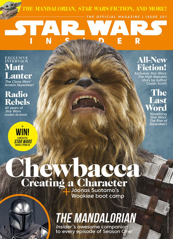 Star Wars Insider issue 201 front cover
