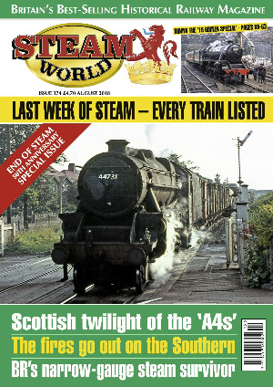 Steam World August 2018 front cover