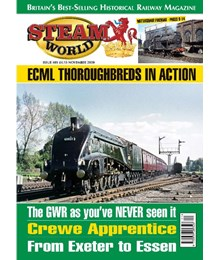 Steam World November 2020 front cover