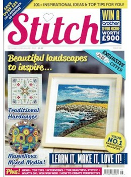 Stitch magazine issue 116 front cover