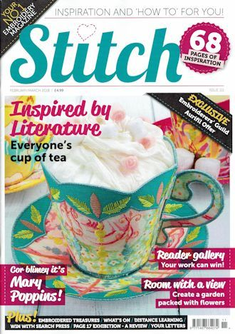 Stitch 111 Front Cover