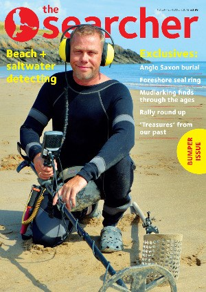 Searcher September 18 front cover
