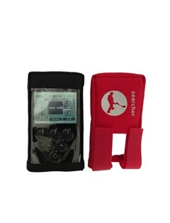 Searcher Deus Remote cover in black or red