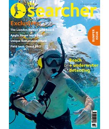 Searcher August cover