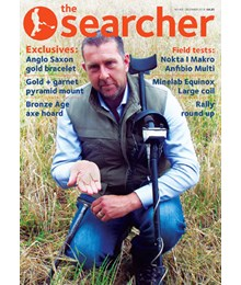 Searcher December 2018 front cover