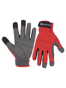 Searcher Detecting gloves RED