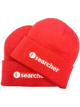 Searcher LTD ED RED beanie