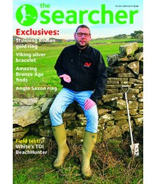Searcher March 2019 front cover