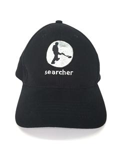 Searcher black baseball cap
