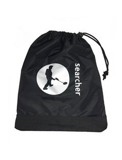 Searcher Black Spade Bag with Searcher Logo