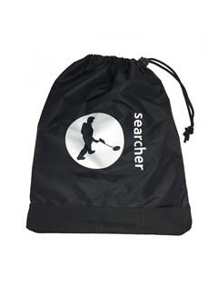 Searcher Black Spade Bag with Searcher Logo