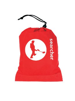 Searcher spade bag in red