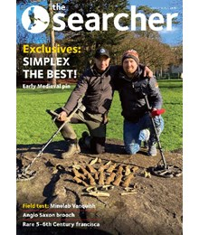 Searcher April 2020 front cover