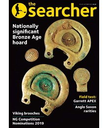 Searcher front cover October 2020