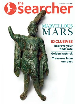 Searcher March 2020 front cover