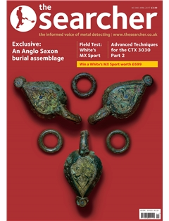 the Searcher front cover April 17