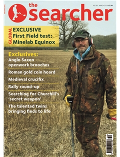 the Searcher front cover March 18