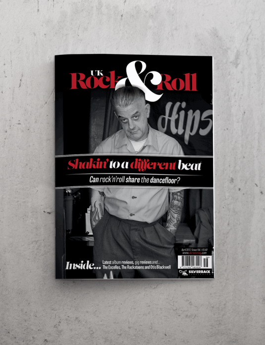 UK Rock and Roll Front Cover April 17
